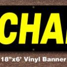 Mechanic Banner 18 inch x 6 ft