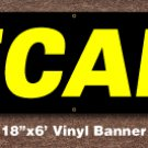 Pecans Banner 18 inch x 6 ft