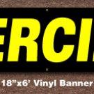 Piercing Banner 18 inch x 6 ft