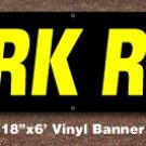 Pork Ribs Banner 18 inch x 6 ft