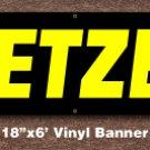 Pretzels Banner 18 inch x 6 ft