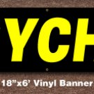 Psychic Banner 18 inch x 6 ft