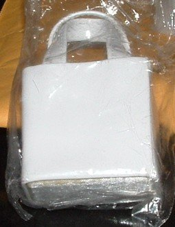 6 NEW Wilton White Favor Tote Wedding