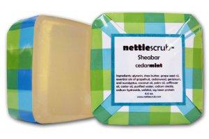 NEW cedarmint Sheabar soap