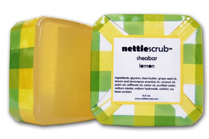 NEW lemon Sheabar soap