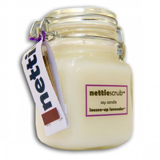 LOOSEN-UP LAVENDER(tm) Waterproof Bath Candle