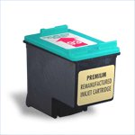 Remanufactured Color Ink Cartridge - replaces HP C9361WN (HP 93) - get two for the price of one -