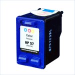 HP C6657AN (HP 57) Remanufactured Color Ink Cartridge