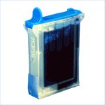 Brother Compatible - LC04C Cyan Ink Cartridge get four for just $12.00