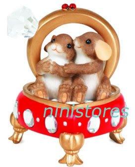� '09 NEW Charming Tails DIAMOND RING LOVE Figurine �