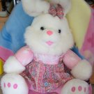 Huge Playful Plush Bunny Two Cute! Toys, stuffed animal