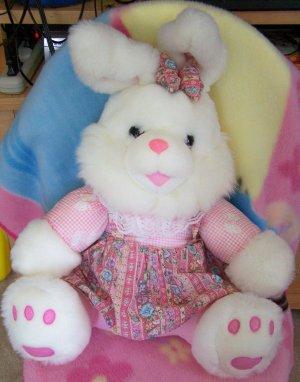 Huge Playful Plush Bunny Two Cute! Toys, stuffed animal
