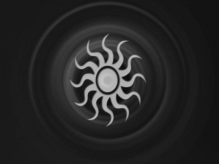 Sun Black and White 8X10