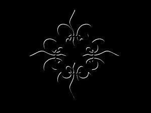 Fleur De Lis Threshold 8X10