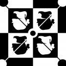 Guess 8X10