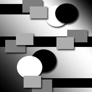 Random Shapes 8X10