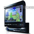 Single DIN Car GPS DVD player Bluetooth Ipod TV 1 Din DVD GPS Navigation