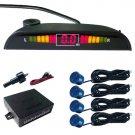 Led Display Car Reverse Parking Radar Detector 4 Sensor auto Reverse