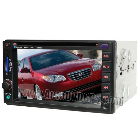 Hyundai Elantra Sonata DVD player with built-in GPS navigation TV Radio tuner