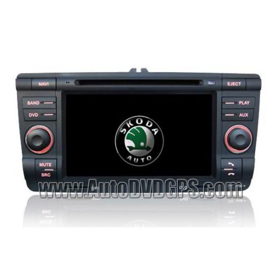 VW SKODA DVD CD player built-in GPS Camera port Steering wheel control