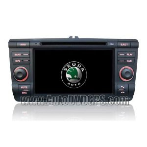 VW SKODA DVD CD player built-in GPS Camera port Steering wheel control
