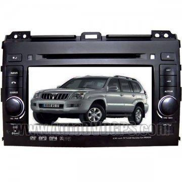 "Digital High Resolution 7"" Touchscreen Dual-Zone Car DVD GPS Player for Toyota Prado+ RDS"