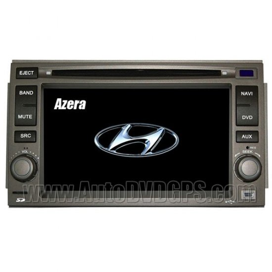 Car DVD player with built-in GPS navigation for Nissan and Hyundai Azera