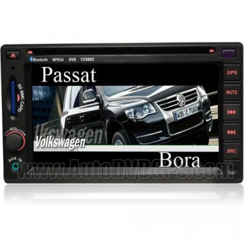 VW Jetta 2004 DVD GPS navigation Player + bluetooth + TV + Special frame