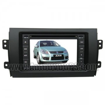Suzuki SX4 Car DVD Player with GPS Navigation system and Digital HD touchscreen