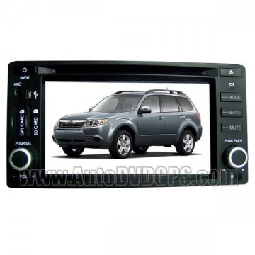 """Subaru Forester & Impreza Car DVD Player with indash GPS navigation and 6.2"""" touchscreen"""