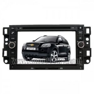 "Car DVD GPS player with 7"" Digital Touchscreen for Chevrolet CAPTIVA + Bluetooth iPod control"