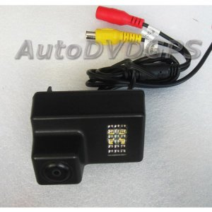 Car Reverse Rearview CCD backup camera for Peugeot 307 206 207 407