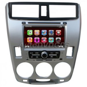 "Honda CITY 2009 OEM Autoradio DVD GPS Navigation + 7"" HD digital touch screen BT iPOD RDS"