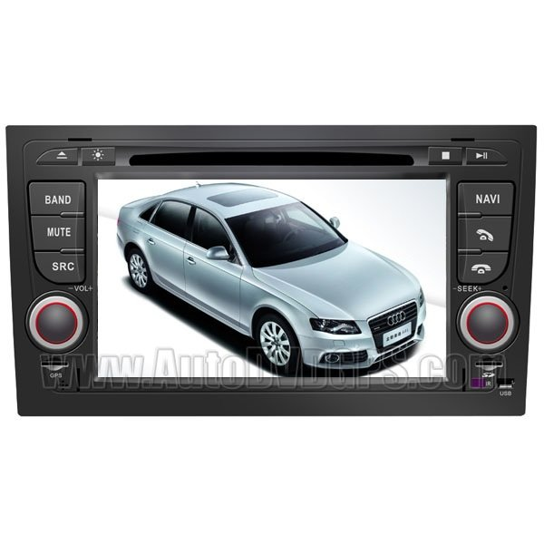 """Audi A4 DVD GPS Navigation player with 7"""" Digital Touchscreen / PIP RDS Bluetooth"""