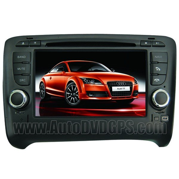 """7"""" Digital Touchscreen DVD GPS Navigation player for Audi TT with PIP RDS Bluetooth CAN-BUS"""