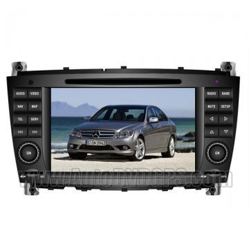 HD touchcreen DVD-based Navigation with iPod Bluetooth for MERCEDES BENZ C-Class W203/CLK W209/