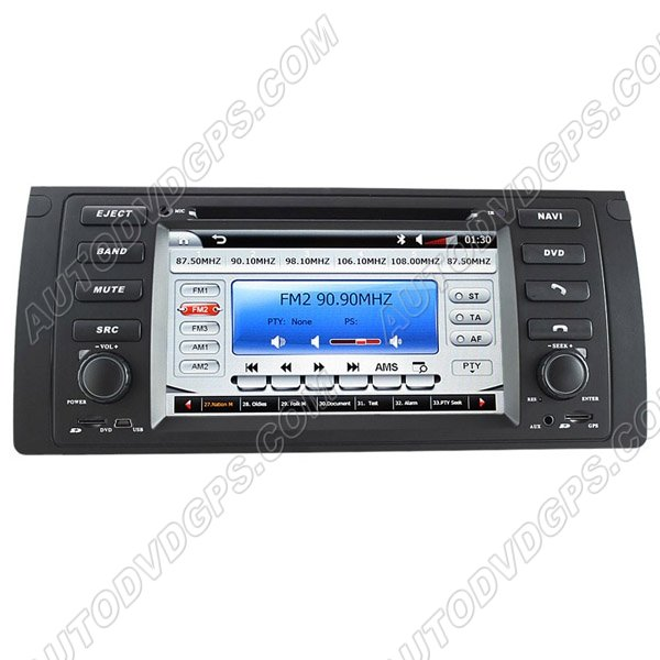"BMW 5-E39/BMW X5-E53 DVD Navigation System with 7"" HD touchcreen"