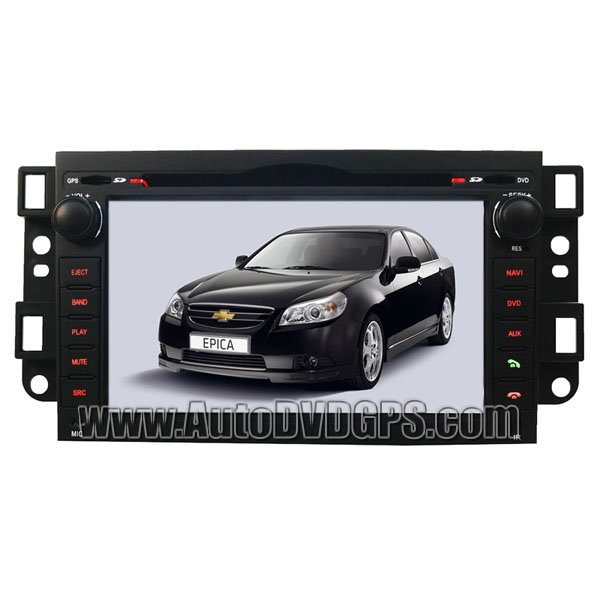 """Chevrolet New Epica Lova DVD GPS Player with 7"""" Digital Touchscreen and BT PIP CDC"""