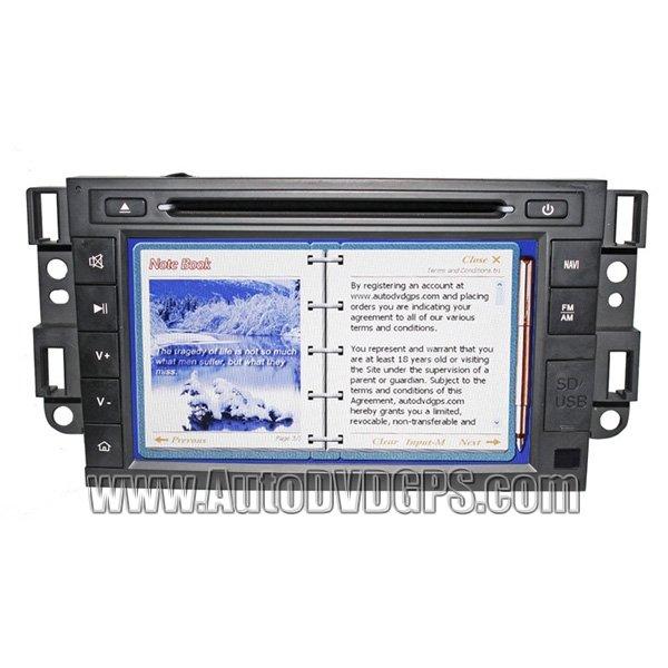 For Chevrolet Epica Captiva Updated GPS Sat Navi System + DVD Playback BT Notebook