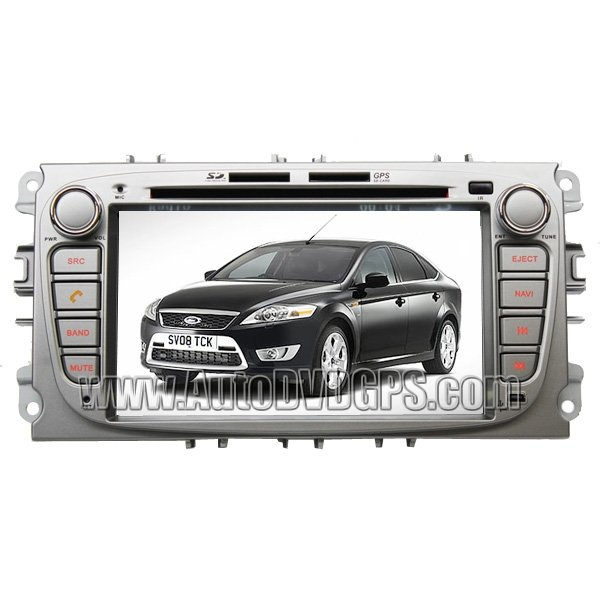 """For Ford C-MAX GPS Navigation DVD +7"""" HD digital touchscreen bluetooth iPOD RDS Sub-woofer Out"""