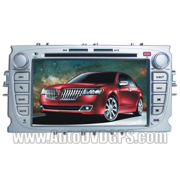 GPS Sat Navi Update + DVD Playback BT Plug And Play Phonebook For Ford Focus 2008-2010