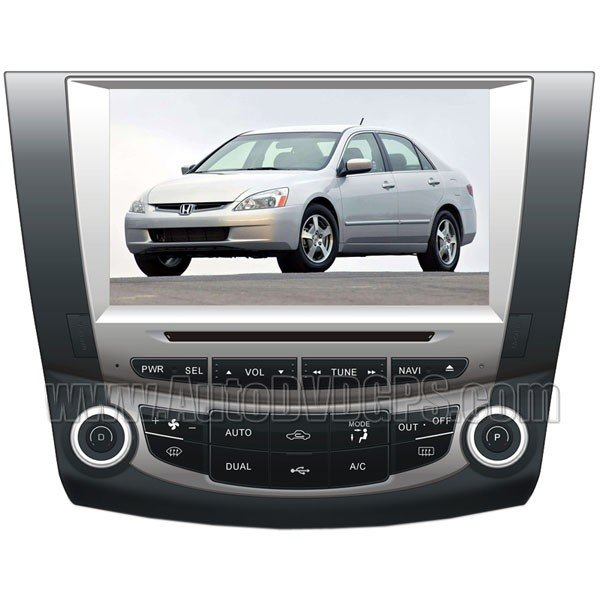 """8"""" Digital HD Touchscreen GPS System with iPod BT Control for 7th 2003-07 Honda Accord"""