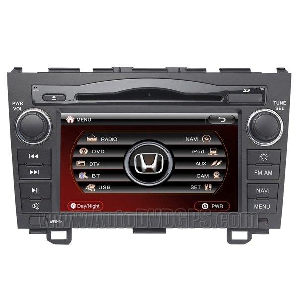 Indash DVD GPS Radio for Honda CR-V -HD Digital Panel RDS DTS iPod