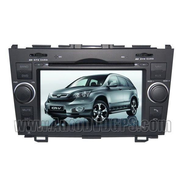 "Honda CR-V DVD Navigation player with 7"" Digital HD touchscreen & PIP RDS Bluetooth"