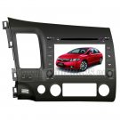 "Honda Civic DVD Player with in-dash GPS Navigation and 8"" HD Touchscreen"