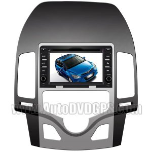 HD Touchscreen DVD GPS Navigation Player with BT iPod Control and PIP RDS for Hyundai i30