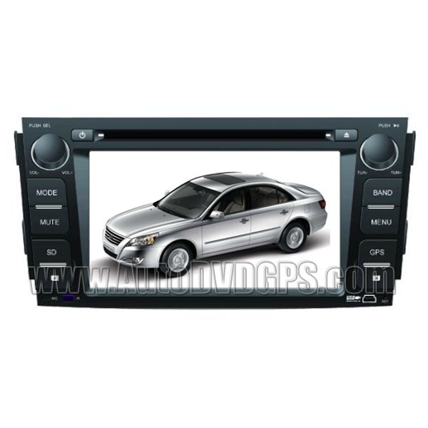 Hyundai Sonata 2009 DVD Player with GPS navigation and digital HD touchscreen + Bluetooth Dual-zone