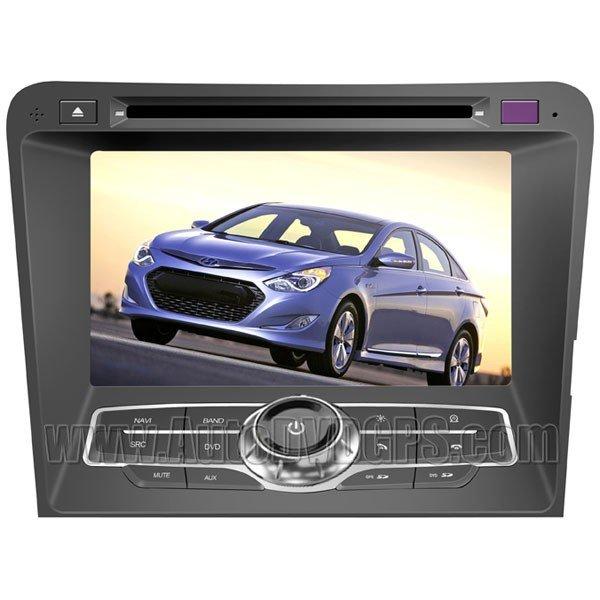 "SON775 7""HD TouchscreenDVDGPS Navigation Player with PIP RDS iPod V-CDC for2011HYUNDAI SONATA YF i45"