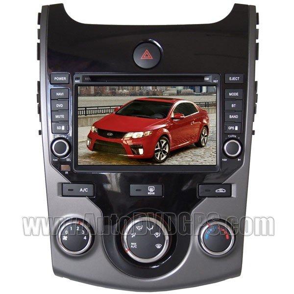 "FRT311 2009-11 Kia Cerato /Forte Koup DVD Player with GPS navigation and 7"" Digital HD touchscreen"
