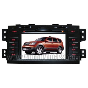 "KIA340 KIA Borrego Mohave DVD Player with GPS navigation and 7"" Digital HD touchscreen + Bluetooth"